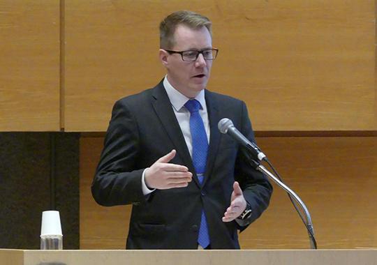ユッシ・ヘイノネン 放射性廃棄物・保障措置規制担当課長